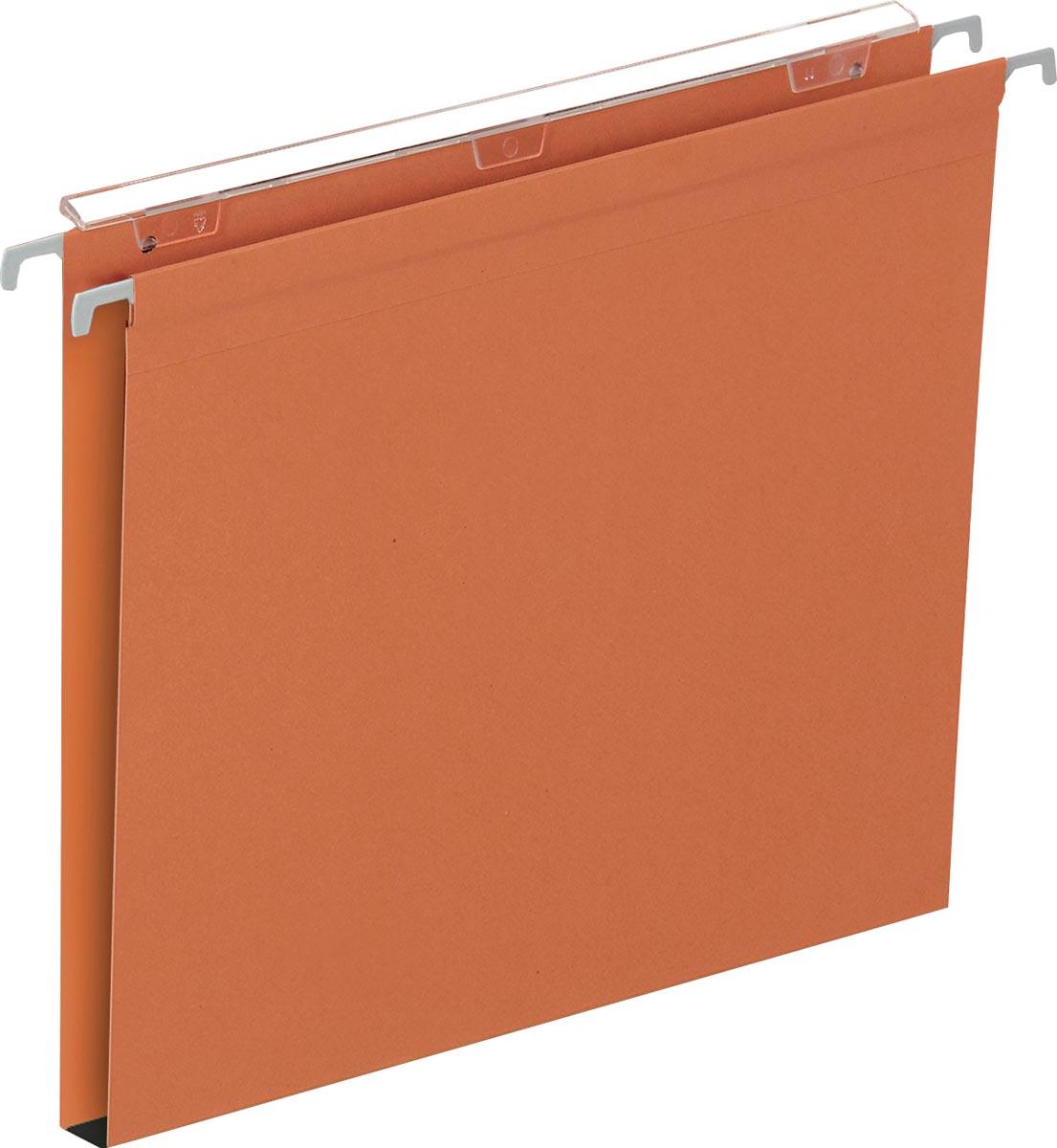 Pergamy Defi hangmap ft A4, bodem 15 mm, oranje, pak van 25 stuks