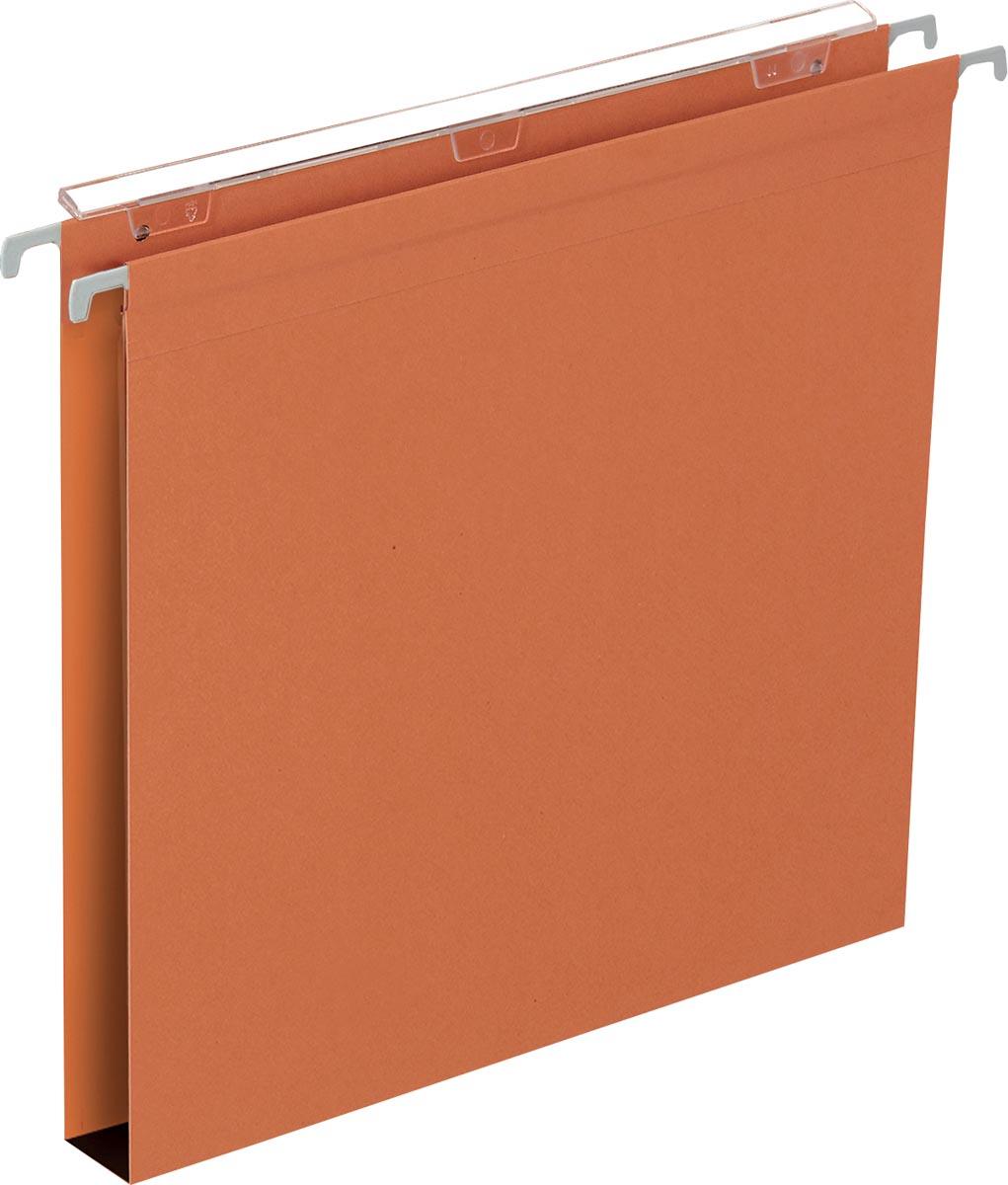 Pergamy Defi hangmap folio, bodem 30 mm, oranje, pak van 25 stuks