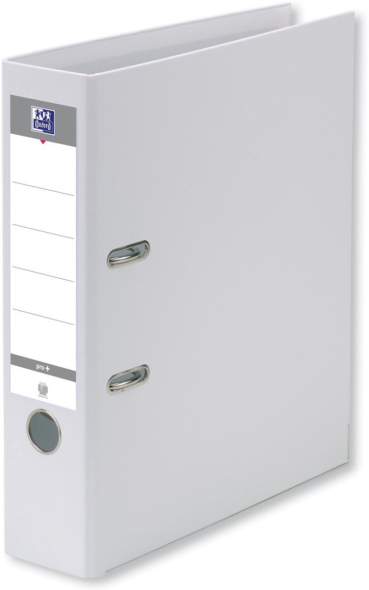 Oxford Smart Pro+ ordner, voor ft A4, rug 8 cm, wit