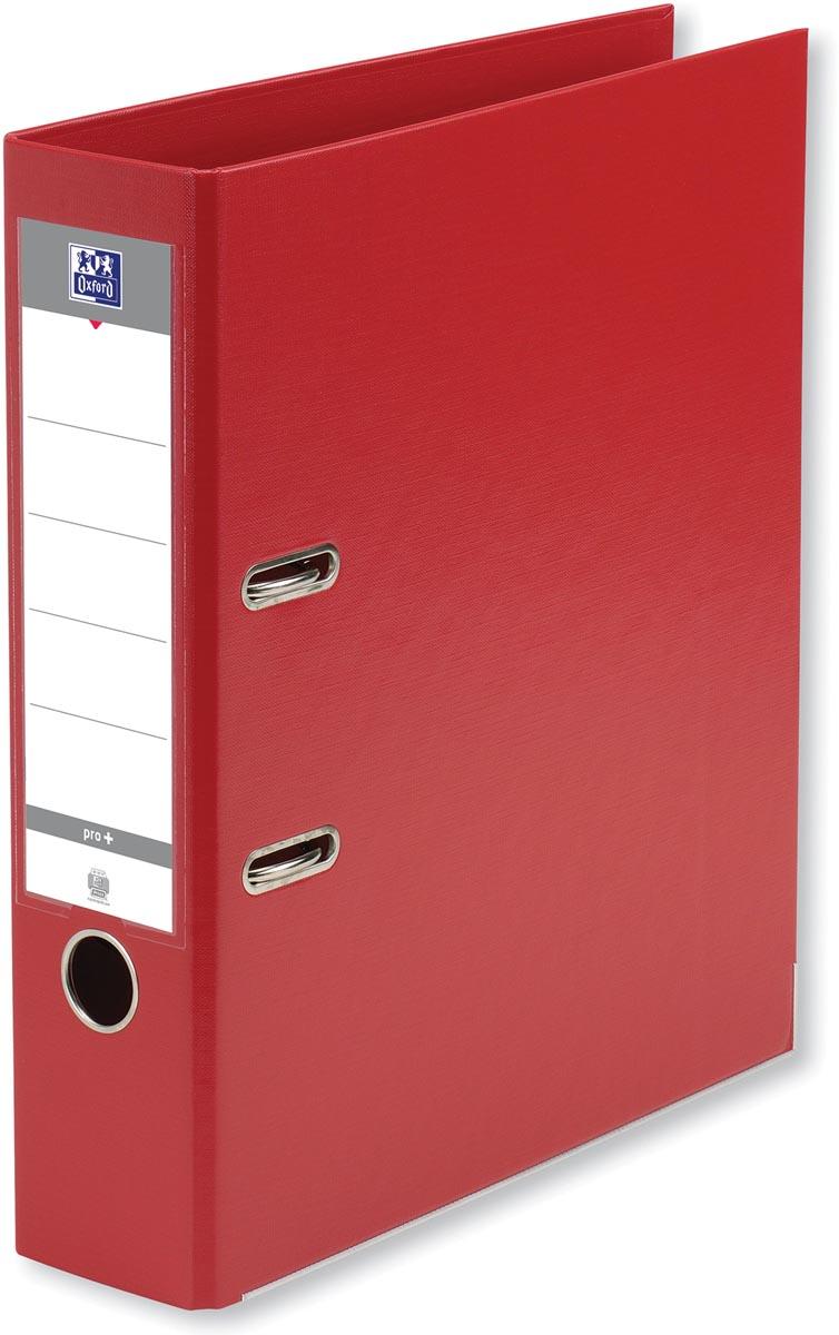 Oxford Smart Pro+ ordner, voor ft A4, rug 8 cm, rood