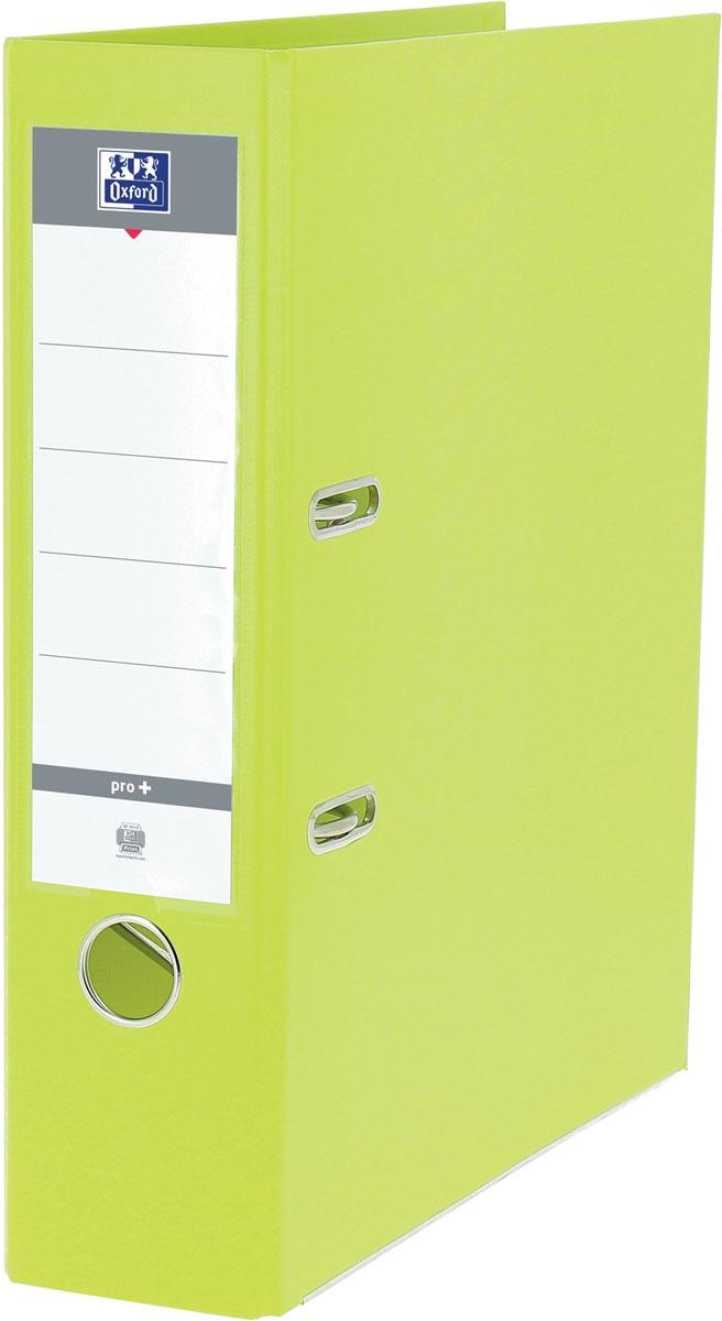 Oxford Smart Pro+ ordner, voor ft A4, rug 8 cm, lichtgroen