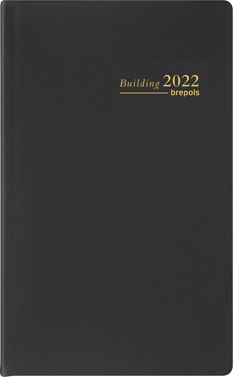 Brepols Building Technique Seta, zwart, 2022