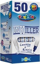 Carioca inktuitwisser Inkiller, met twee punten