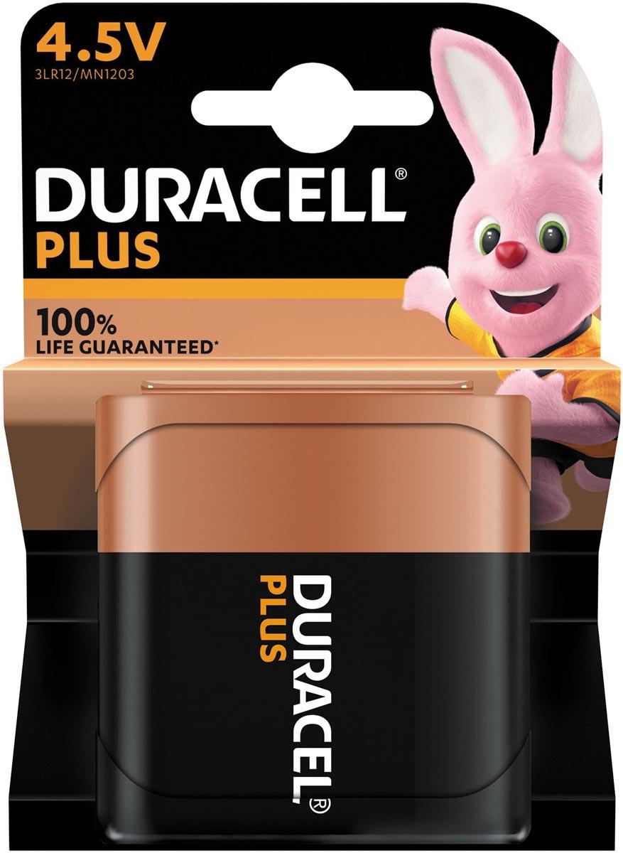 Duracell batterij Plus 100% 4,5V, op blister
