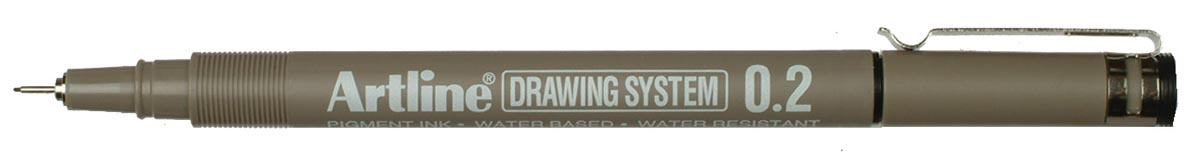 Fineliner Drawing System 0,2 mm