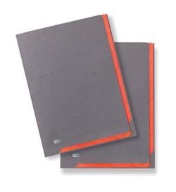 Elba Binnenmap Elba for Business Quick Access grijs/oranje