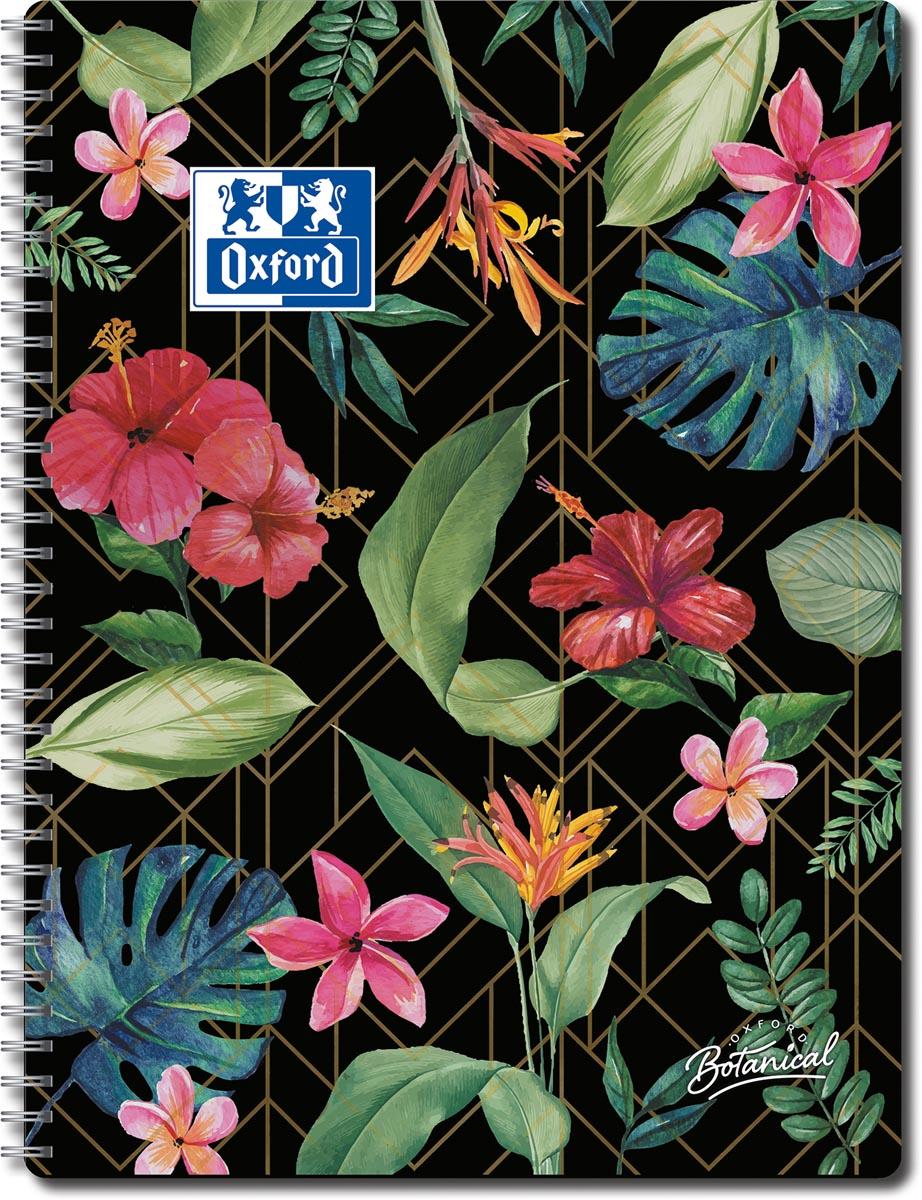 Oxford Botanical spiraalschrift, 140 bladzijden, ft A4+, gelijnd