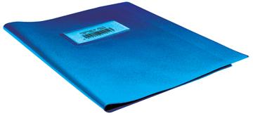 schriftomslagen blauw, ft schrift 16,5 x 21 cm