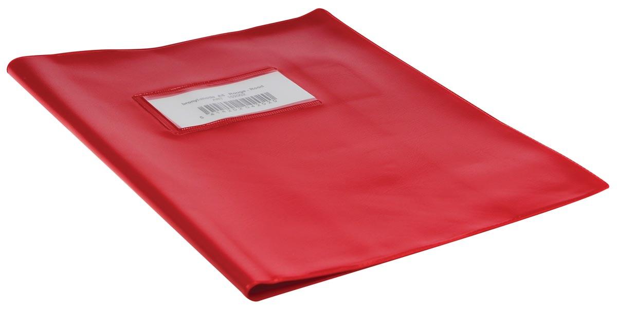 schriftomslagen rood, ft schrift 16,5 x 21 cm