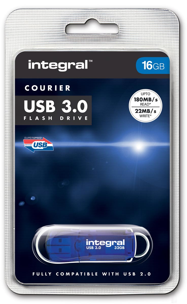 Integral COURIER USB stick 3.0, 16 GB