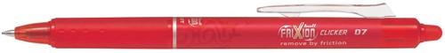Pilot intrekbare roller FriXion Ball Clicker, medium punt, 0,7 mm, rood