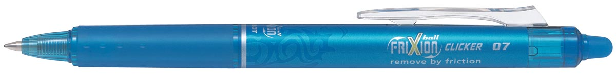 Pilot intrekbare roller FriXion Ball Clicker, medium punt, 0,7 mm, turkoois