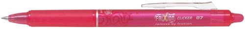 Pilot intrekbare roller FriXion Ball Clicker, medium punt, 0,7 mm, roze