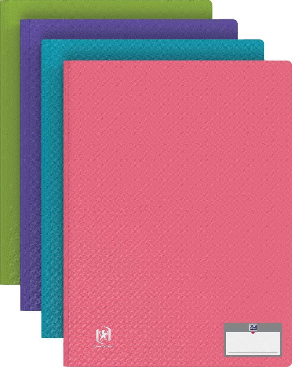 OXFORD Memphis presentatiealbum 40 tassen, geassorteerde kleuren