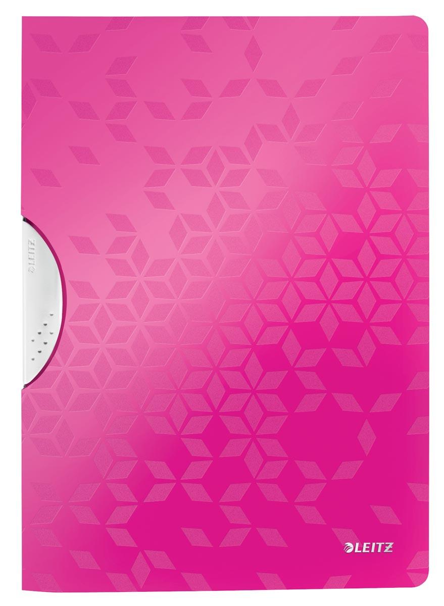 Leitz WOW klemmap Colorclip, ft A4, roze
