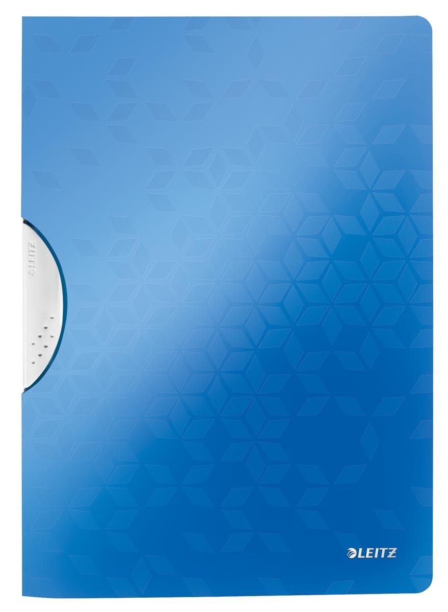 Leitz WOW klemmap Colorclip, ft A4, blauw