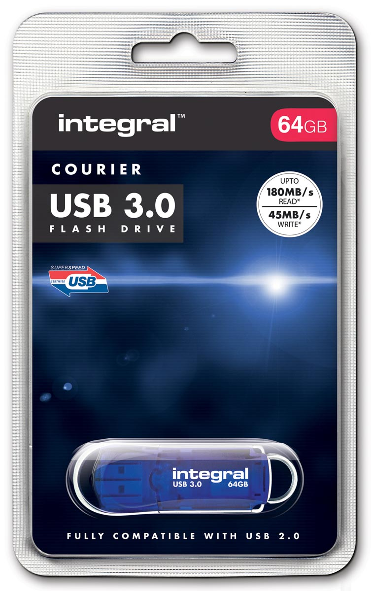 Integral COURIER USB stick 3.0, 64 GB