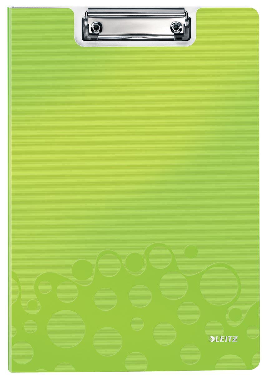 Leitz WOW klemmap met omslag, ft A4, groen