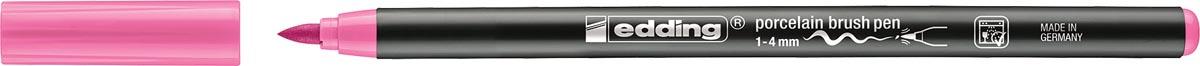 Edding porselein penseelstift e-4200, roze
