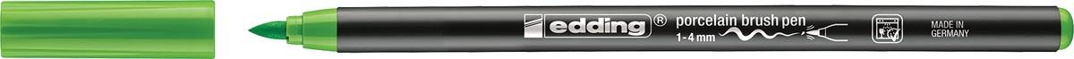 Edding porselein penseelstift e-4200, lichtgroen