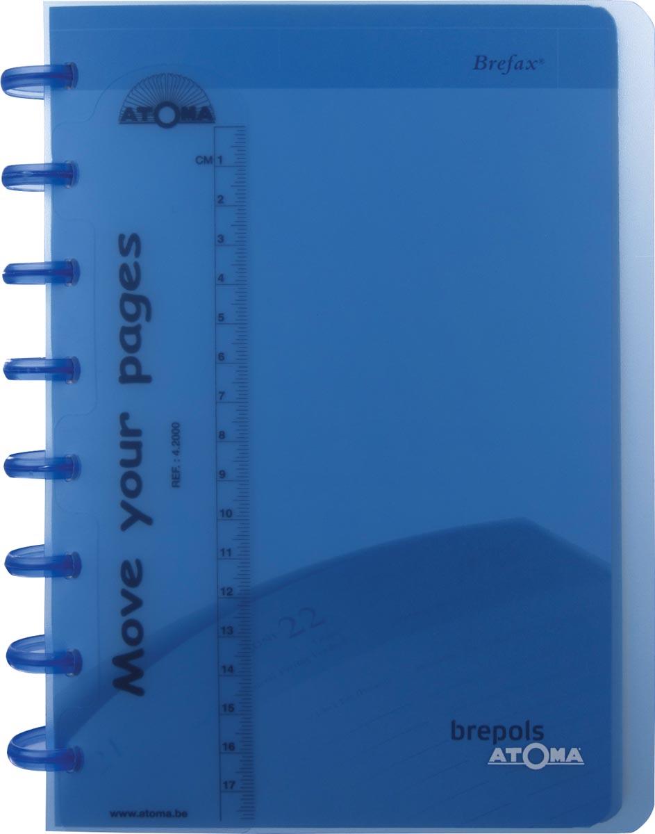 Atoma agenda ft A5, cr�mekleurig papier, 144 pagina's 2020