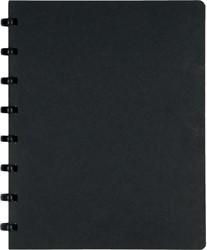 Atoma meetingbook, ft A5, zwart, gelijnd