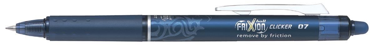 Pilot gelroller Frixion Ball Clicker blauw-zwart