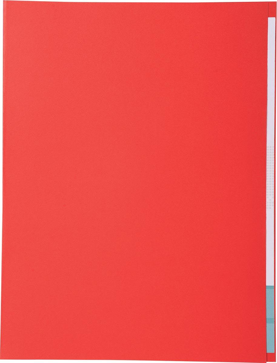 Exacompta dossiermap Forever met zichtrand, ft A4, pak van 100, rood