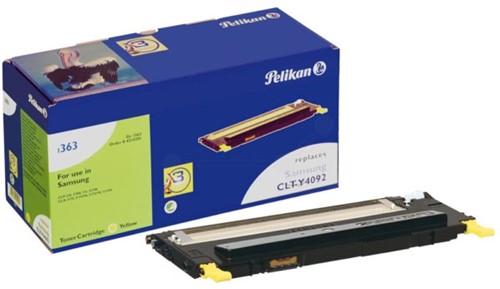 Pelikan toner geel, 1000 pagina's voor Samsung - OEM: CLT-Y4092S