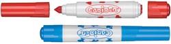 Carioca stempelstift Stamperello, doos met 6 stiften in geassorteerde kleuren en met 6 stempelmotieven