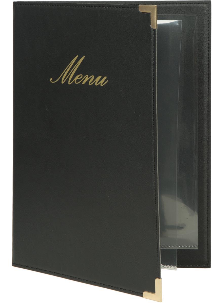 Securit menukaart Classic, ft A5, zwart