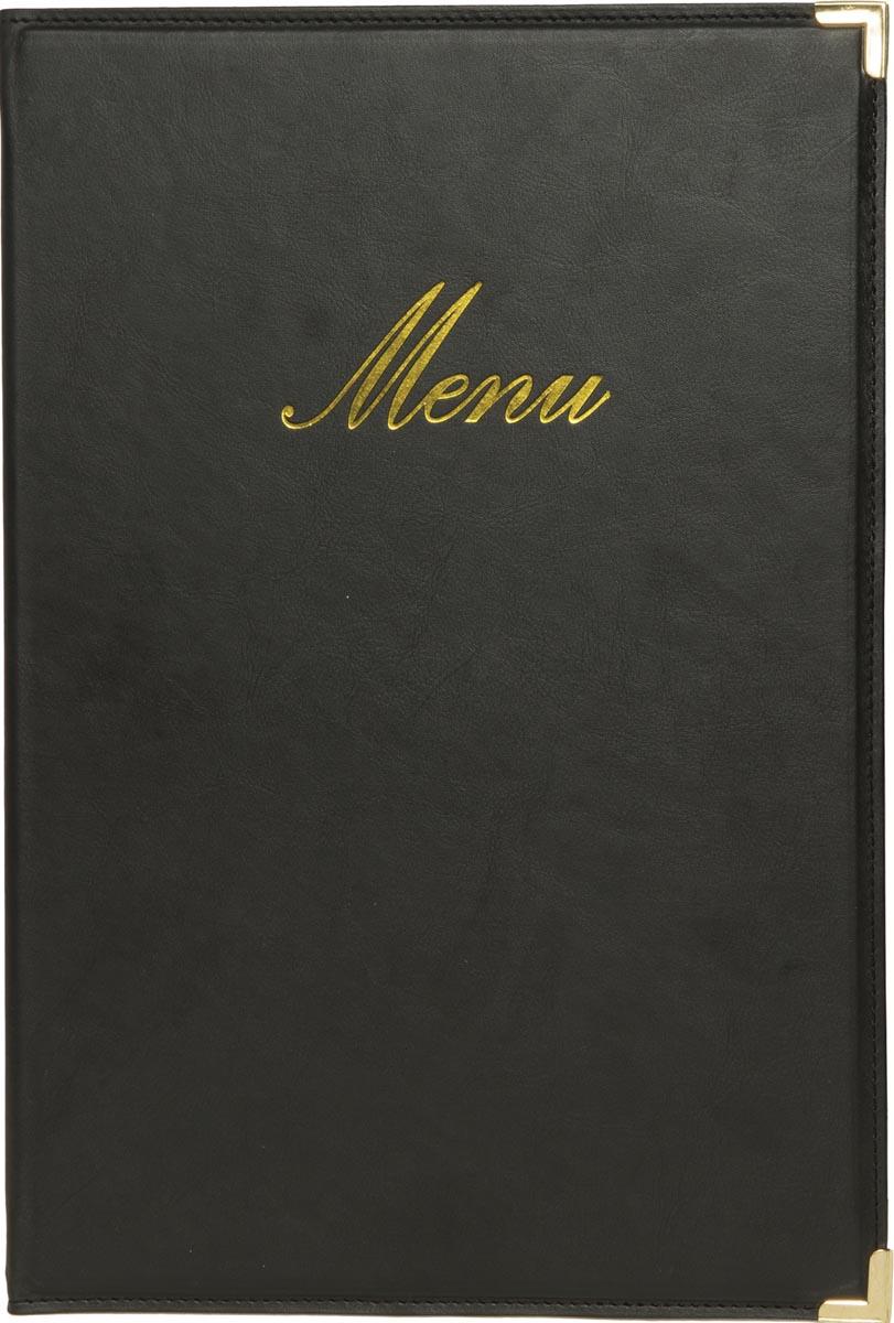 Securit menukaart Classic, ft A4, zwart