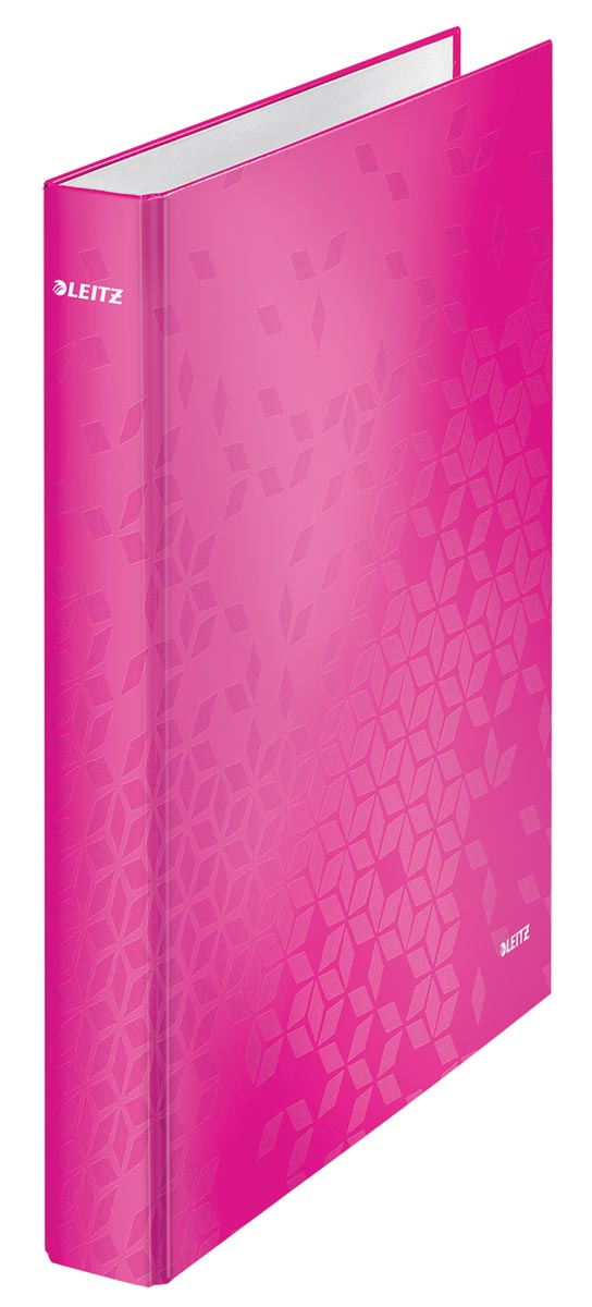 Leitz WOW ringmap 2 ringen, roze