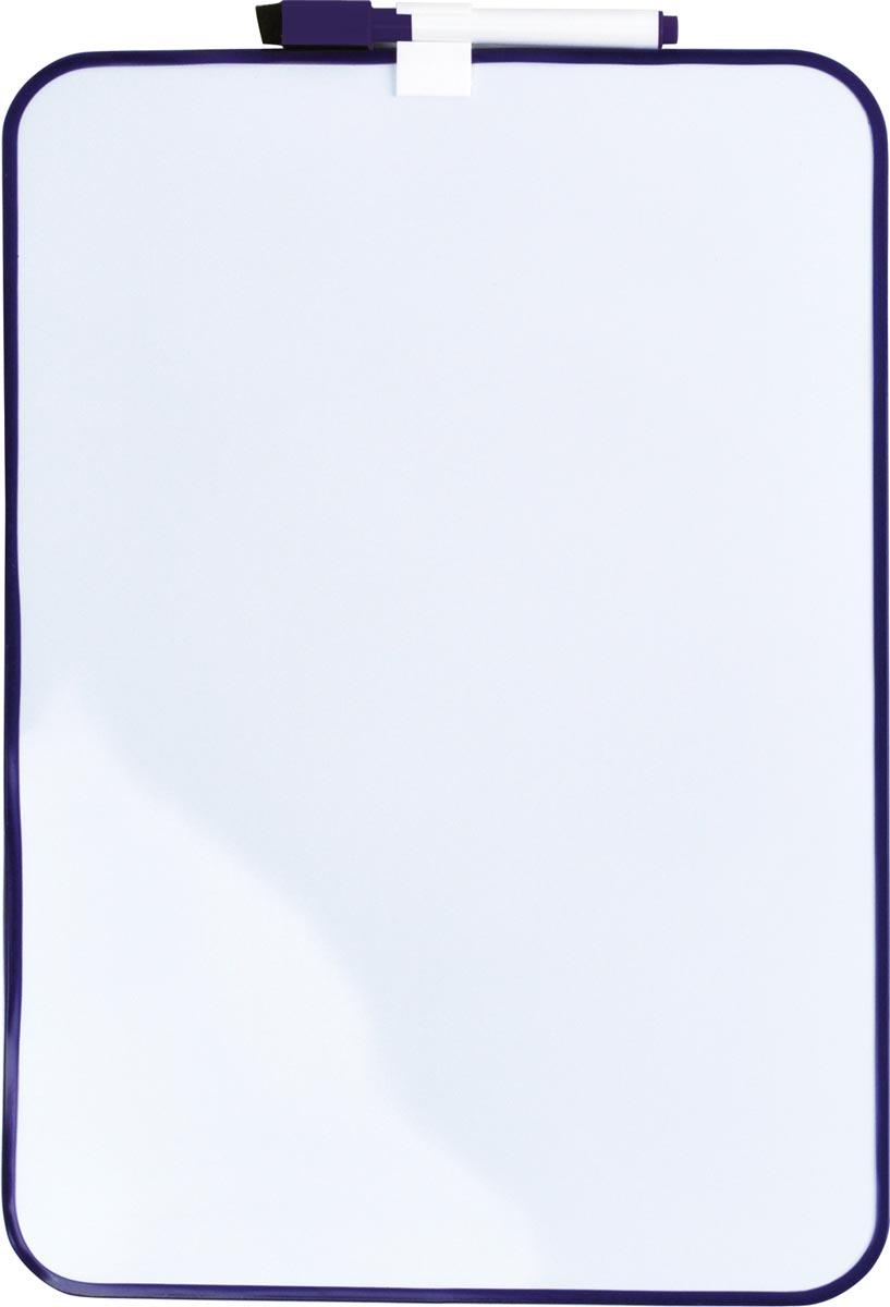 Desq Magnetisch witbord, ft 24 x 34 cm, paars