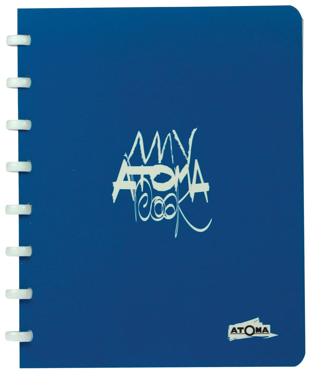 Atoma schrift My Atoma Book Collection ft A5, commercieel geruit