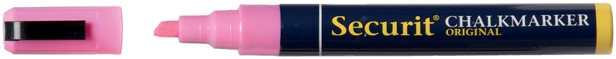 Securit krijtmarker medium, roze