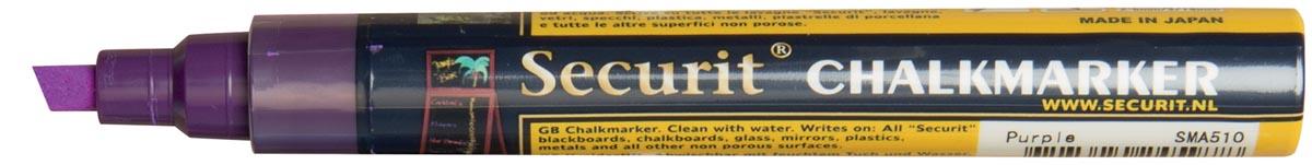 Securit krijtmarker medium, paars