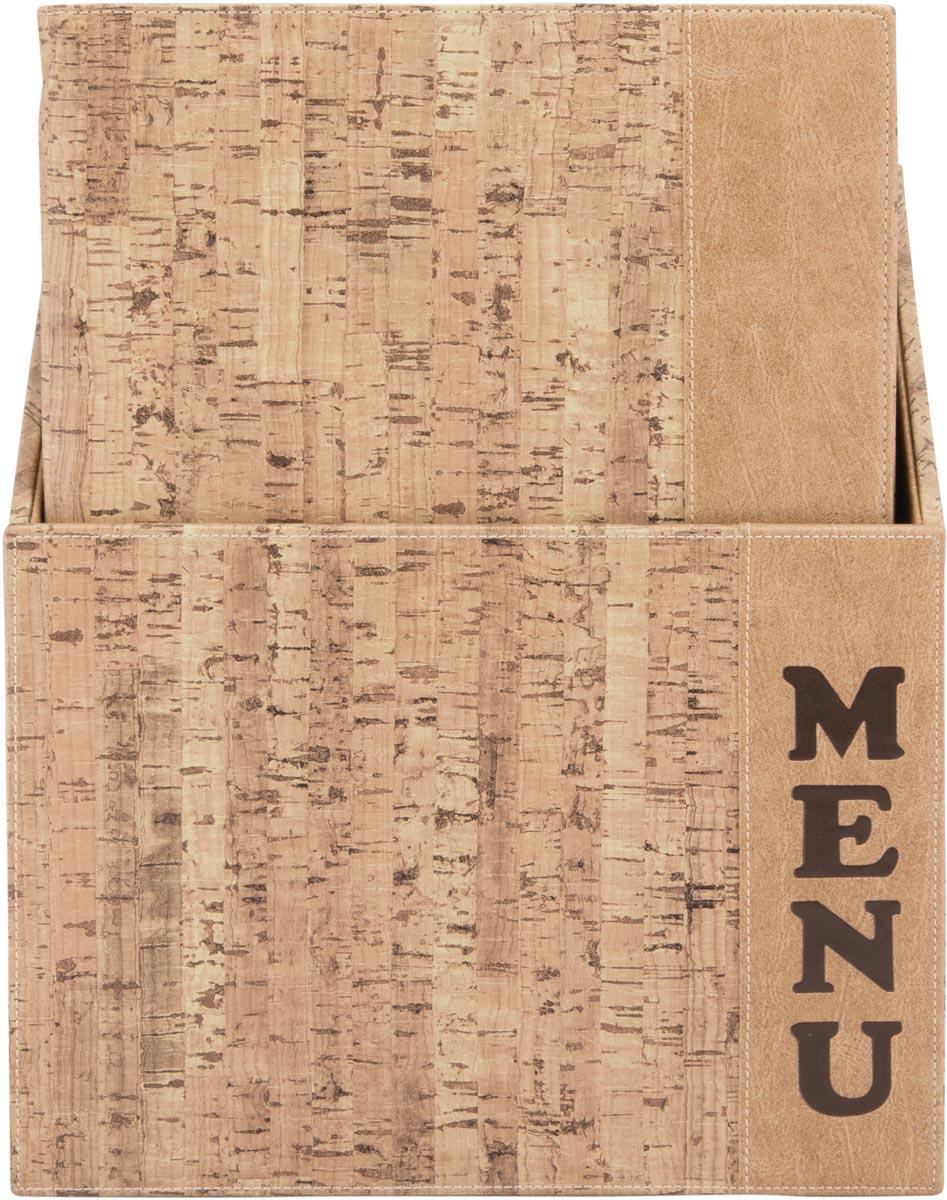 Securit menukaart Design, ft A4, Cork, doos met 10 stuks