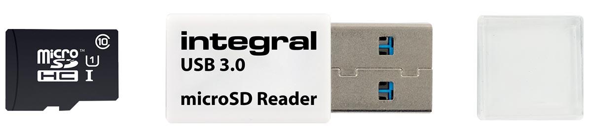 Integral Micro SD USB 3.0 geheugenkaartlezer