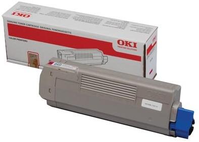 Oki Toner Kit magenta - 6000 pagina's - 44315306