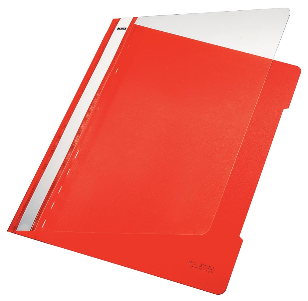 Leitz Snelhechtmap rood, ft A4
