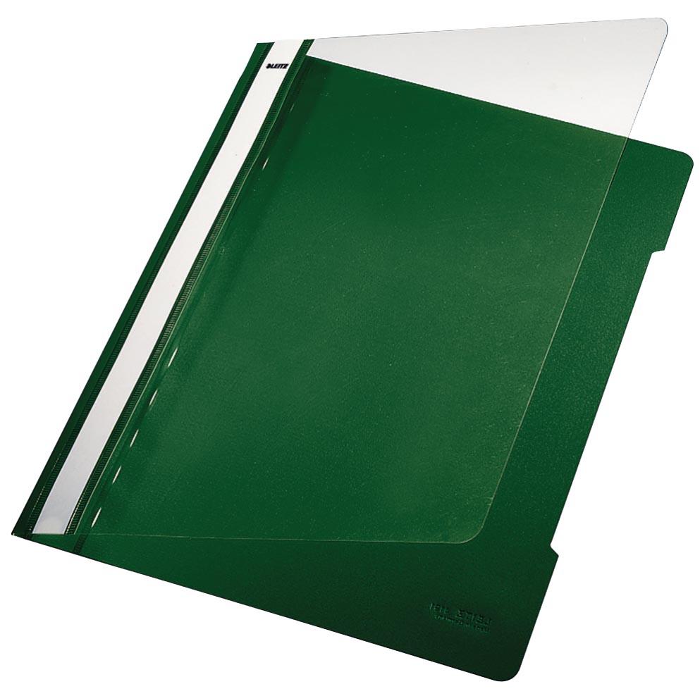 Leitz Snelhechtmap groen, ft A4