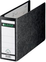 Leitz ordner (PCR) voor ft A5 (dwars), rug van 8 cm, zwarte omslag van stevig marmerboard karton.Zonde...