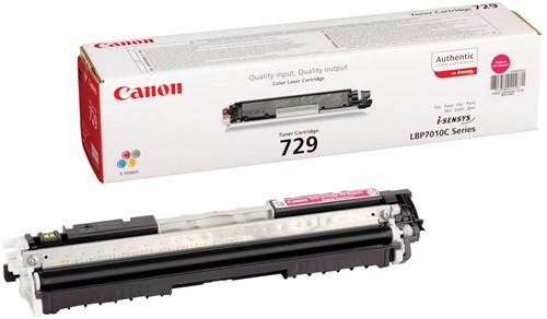 Canon toner 729M, 1.000 pagina's, OEM 4368B002, magenta