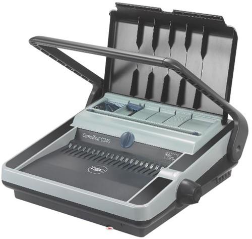GBC manuele inbindmachine CombBind C340, met ponshendel
