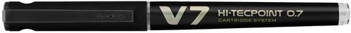 Pilot Roller Hi-Tecpoint V7 0,7 mm zwart