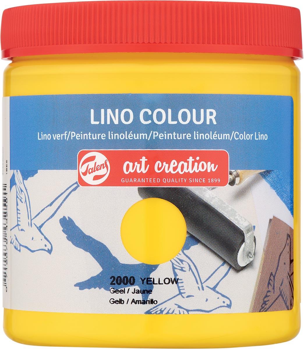 Talens Art Creation lino verf, geel