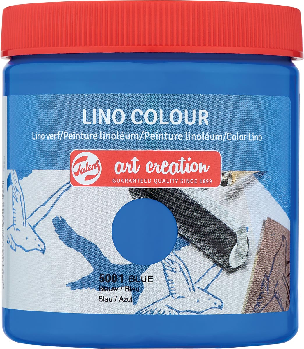 Talens Art Creation lino verf, blauw