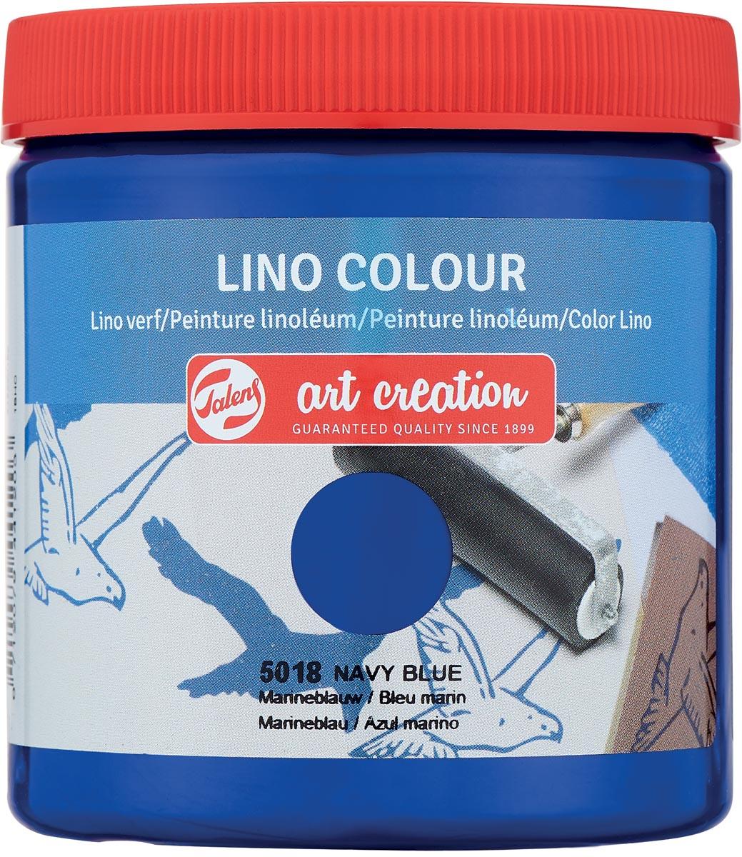 Talens Art Creation lino verf, marineblauw