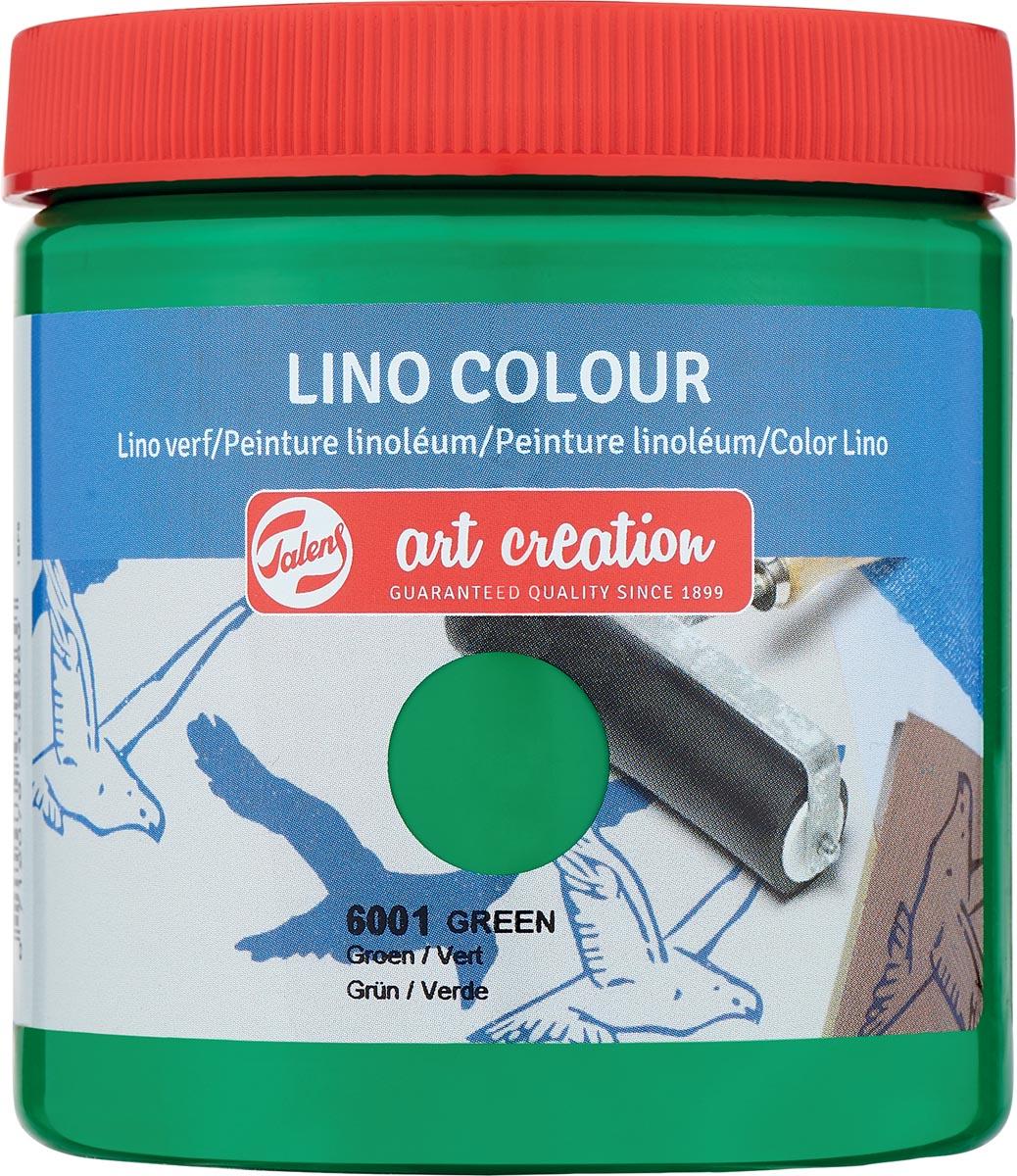Talens Art Creation lino verf, groen